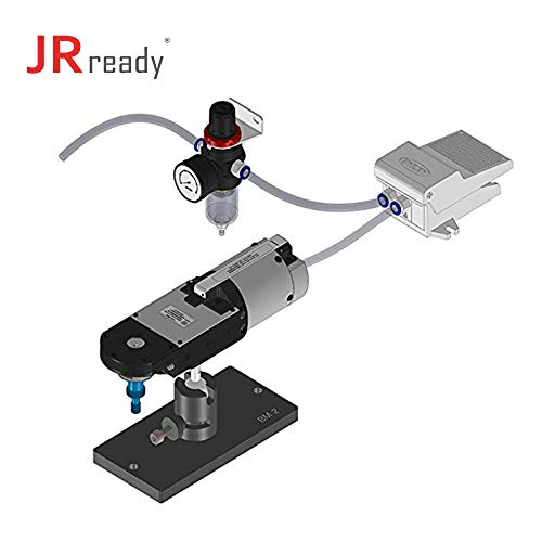 JRready ST4047: YJQ-X2Q-2.0/2.5/3.0 Pneumatic cable Crimper Air Tools & UH3-C0001 Positioner & BM-2 Adjustable Base Mount & F2 air control system to crimp Connector Contacts Mount Crimp