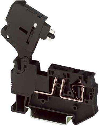 Phoenix ST 4-HESI (5X20) Black Terminal Blocks (6.2 mm, 61.5 mm, 250 V) Phoenix Contact Terminal Block