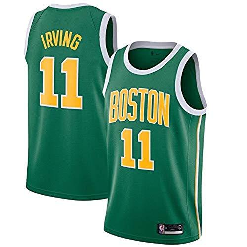 Ldwxxx NBA Kelly Owen - Boston Celtics # 11, Basketballhemd Jersey Weste, Stickerei Swingman, Sportbekleidung (Color : Green1, Size : S) -