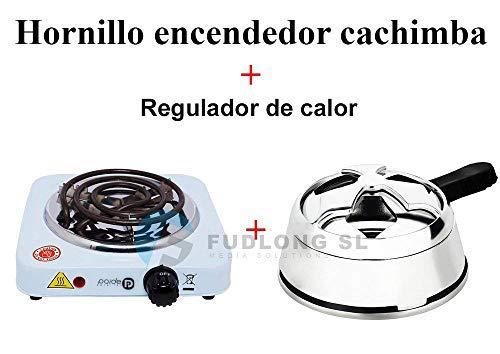 Fudlong [PACK] HORNILLO encendedor cachimba bajo consumo y KALOUD premium