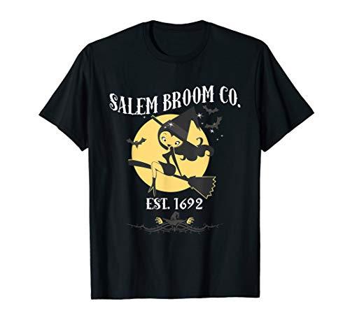 (Salem Besen Co Est. 1692 Halloween Kostüm T-Shirt T-Shirt)