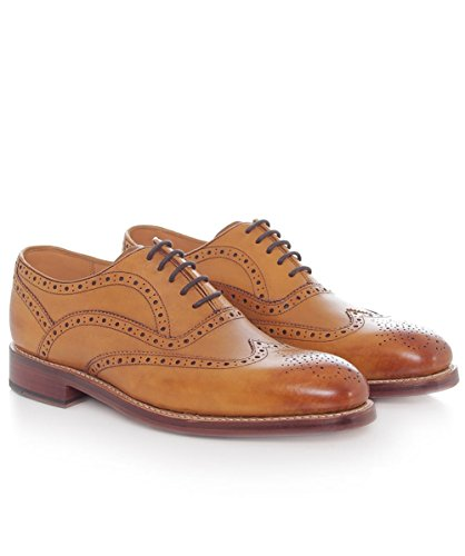 Oliver Sweeney Hommes Brogues Aldeburgh Oxford Brun Roux Brun Roux