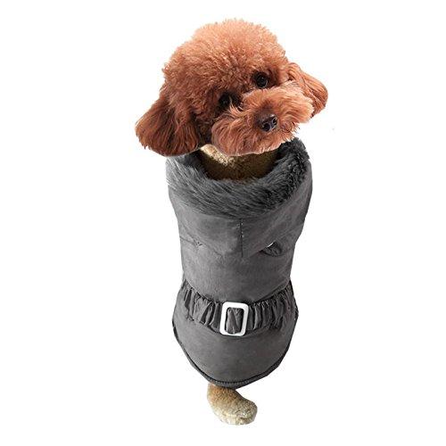 Hundebekleidung Herbst und Winter Hundekleidung LNAG , (Polizei Die Hut Kostüm Britische)