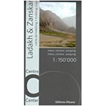 Carte - Ladakh Zanskar (Centre)