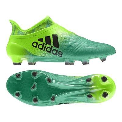 adidas Herren X 16+ Purechaos FG Fußballschuhe Grün (solar Black/core Green White), 40 EU