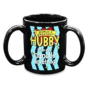 Archies 3 HANDLE MUG HUBBY