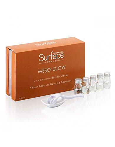 Labors surface-paris Perfect Glow-Cure Vitamin Booster von Eclat 5Wochen meso-glow und seine Dermaroller 0,1mm-5x 5ml