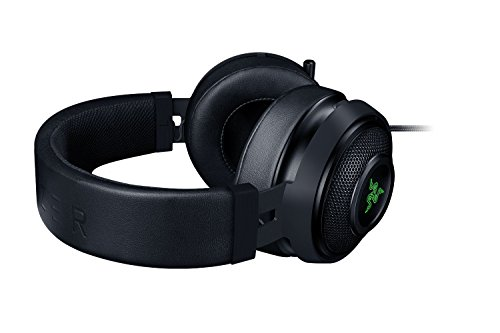 Razer Kraken 7.1 Chroma V2gaming Usb Headset & 7.1 Surround Sound With 50 Mm Drivers, Retractable Digital Microphone & Chroma Lighting, Black