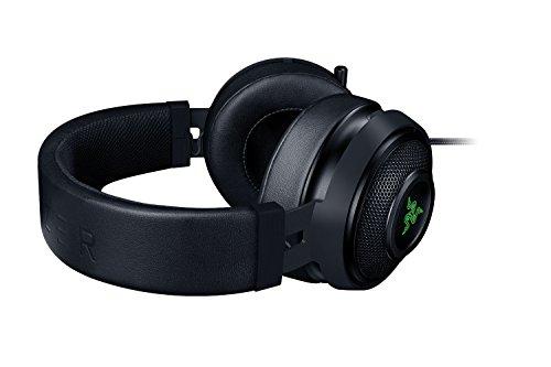 Razer Kraken 7.1 Chroma V2gaming Usb Headset & 7.1 Surround Sound With 50 Mm Drivers, Retractable Digital Microphone & Chroma Lighting, Black