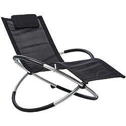 Ultranatura Relax Chaise longue de jardin en aluminium Haiti