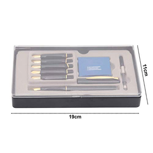 Zoom IMG-1 set 14 pezzi calligrafia penne