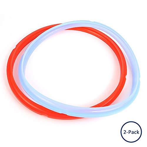 Holidaysummer Dichtungsring für elektrische Schnellkochtopf, 4 Liter, Farbe Savory Ringe, Silikon-Dichtungsring für 4 Quart Modelle, 2 Stück