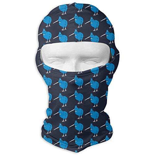 Jxrodekz Balaclava Full Face Mask New Zeland Kiwi Bird Hood Motorcycle Face Mask Windproof UV Protection