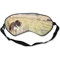 Schlafmaske, Tier-Boxer-Hunde, weich und bequem, Augenbinde für vollständige Verdunkelung und Lichtblockierung... preisvergleich bei billige-tabletten.eu