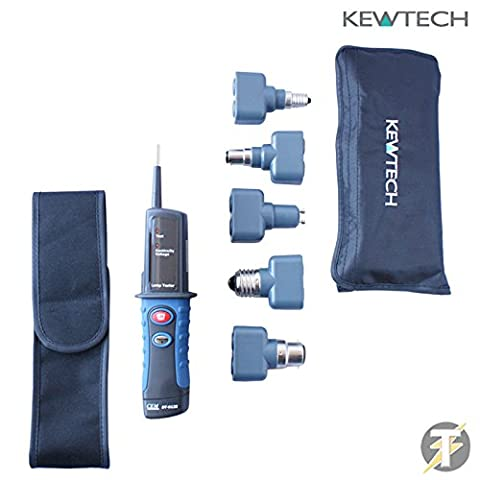 Kewtech Lightmate Light Testing Kit with DT9133 Electrical Lamp /