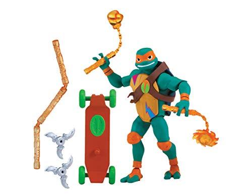 Teenage Mutant Ninja Turtles tuab0200Mikey Fingerring der Ninja Künstler der Rise of Basic Action Figur