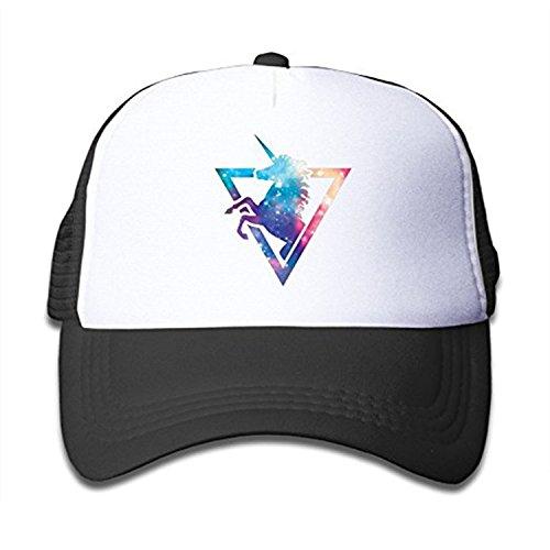 fboylovefor Fashion Unisex Trucker Hat Unicorn Rainbow Mesh Cap Adjustable Baseball Cap