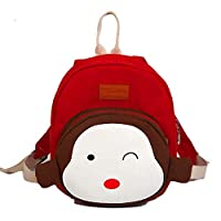 TeMan Children Backpack Kindergarten Cartoon Schoolbag for Kids