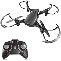 Price comparsion for Mini Drone 2.4GHz 4CH 6-Axis RC Remote Control Nano Quadcopter Best Drone for Kids and Beginners Mini Pocket Drone RC Helicopter with Altitude Hold, 3D Flip, Headless Mode,One Key to Return and LED Light,Good Choice for Drone Training