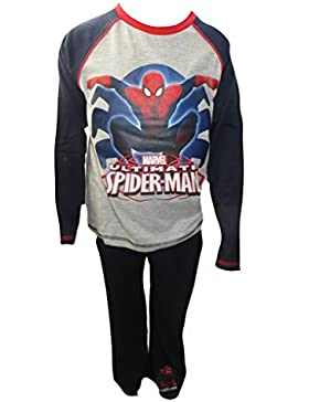 Marvel Ultimate Spiderman Niños Pijamas