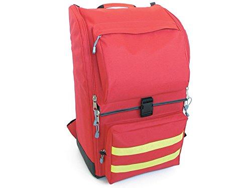 GiMa Ambulance Rucksack, 40cm l x 30cm W x 57cm H, rot, Notfall, Trauma, Rescue, medical, Erste Hilfe, Krankenschwester, Paramedic Multi Pocket Tasche -