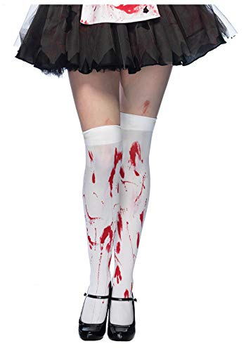 FORLADY Halloween Bleeding Stockings Ghost Festival Products Blood Socks Props Halloween Party Bloody Socks