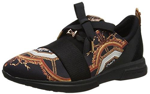 Ted Baker Cepap, Zapatillas Para Mujer, Negro (Black Versailles #000000), 41 EU