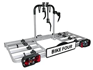 EUFAB 11437 Bike Four Bicycle Carrier