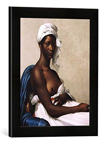 Gerahmtes Bild von Marie-Guillemine Benoist Portrait of a Negress, 1799-1800,