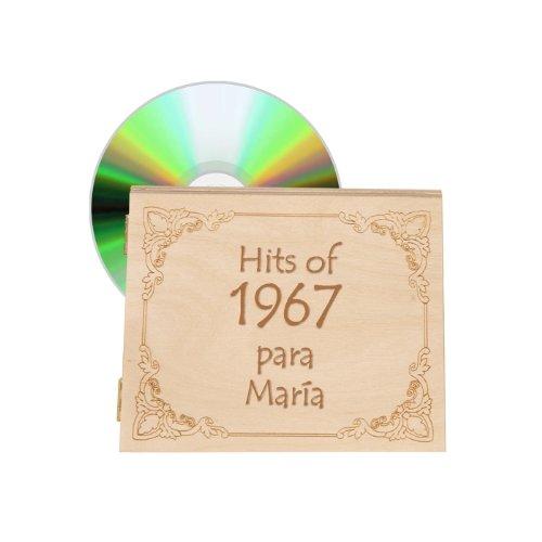 CD personalizado - música del año 1967