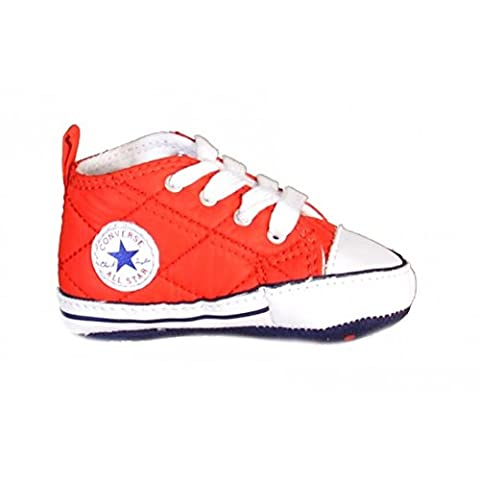 Converse Baby Boys Chuck Taylor All Star Crib Shoes (Infant) (4 M US Infant, Casino/Navy/White)