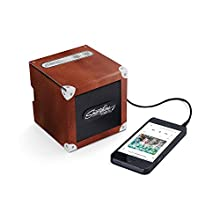 Smartphone Speaker 2.0, Portable Speaker For MP3 Playing Devices, Brown - Luckies of London