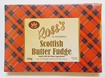 Scottish Butter Fudge From Ross's In Tartan Box