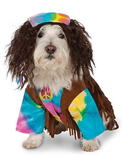Rubies Costume Company Hippie Pet Anzug (Frieden Und Liebe Hippie Kostüm)