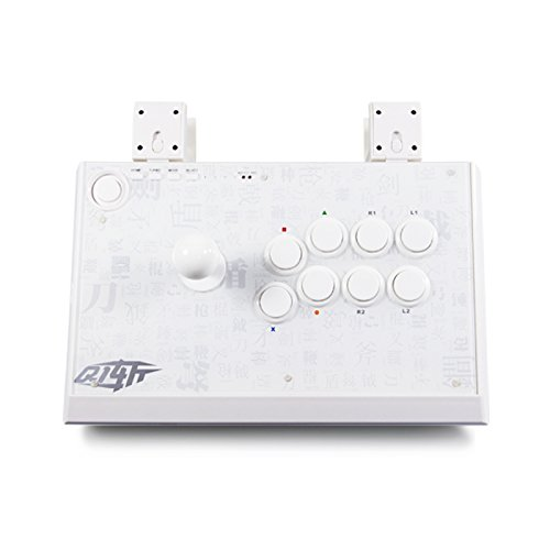 Qanba Q1 Joystick (Ps3 & PC) Weiß (Marvel Capcom Ps3 2 Vs)