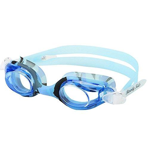 Axiba Kinder Goggles HD wasserdicht und Nebel-Nachweis Schwimmen Brille