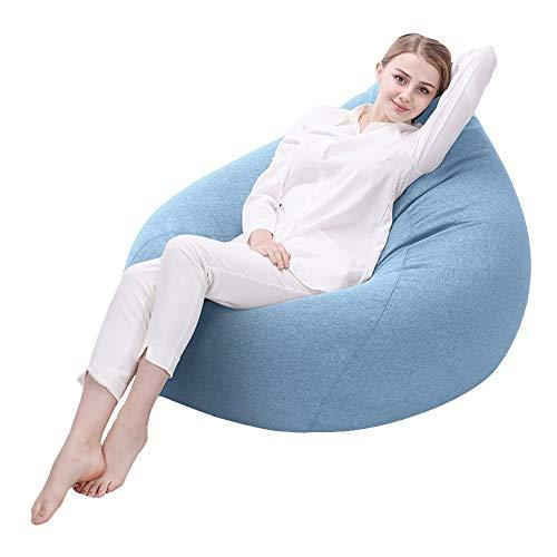 Axdwfd Liegestuhl Lazy Couch, Sitzsack-Liege, Indoor-Wohnzimmer-Player-Sitzsack, Sitzsack für...