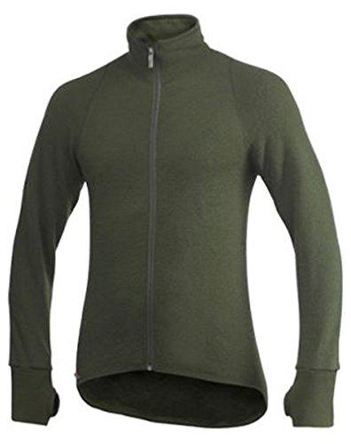 Woolpower Jacket 400 - sweat - noir Sweat-shirt Olive