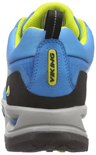 Viking Dis Boa GTX, Bottines de Randonnée Homme Bleu - Blau (Blue/Yellow 3513)