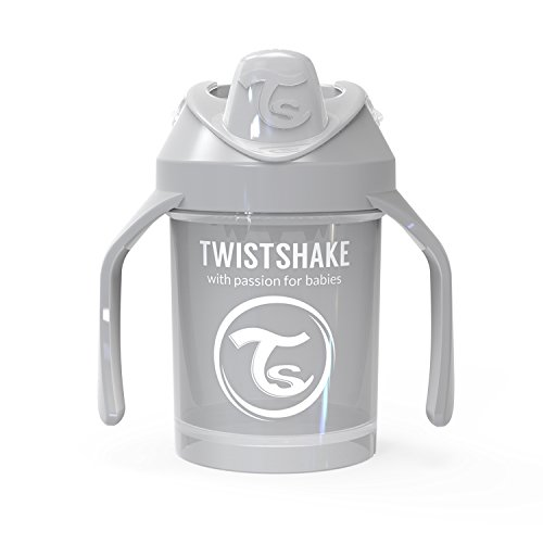 Vital Innovations 78272 Trinkbecher Twistshake Mini Cup, 230 ml, grau