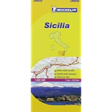 Sicilia Michelin Local Map 365 (Michelin Maps/Local)