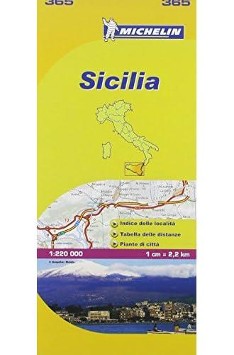 Descargar gratis Mapa Local Italia Sicilia de Michelin