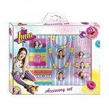Soy Luna Set de 18 Accesorios para Belleza, Unica (Kids Euroswan WDSL073)