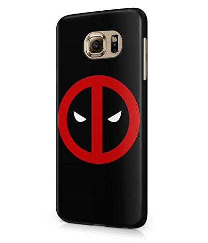 Deadpool Circle Logo Superhero Comics Plastic Snap-On Case Cover Shell For Samsung Galaxy S6