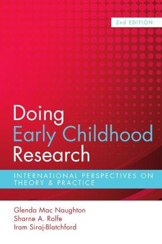Doing Early Childhood Research by Glenda Mac Naughton (2010-07-01)