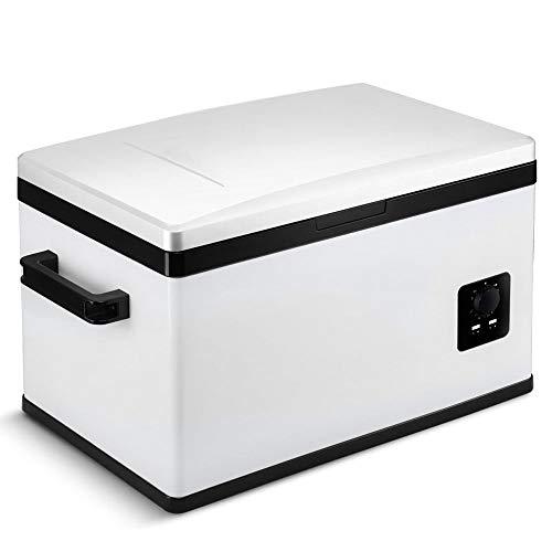 HUIQC Refrigerador portátil Caja 25 litros doble