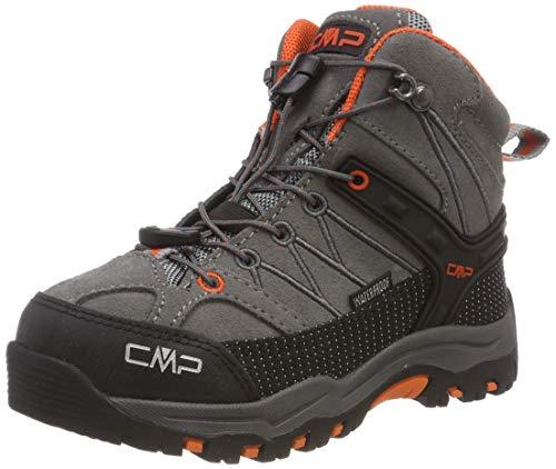 CMP Unisex-Kinder Rigel Mid Trekking-& Wanderstiefel, Grau (Stone-Orange 78uc), 31 EU - Sneakers Mädchen Mid