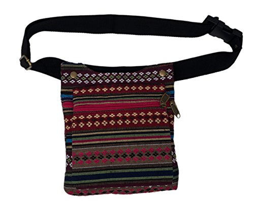 Riñonera lateral, bolsa cadera 2 bolsillos Color