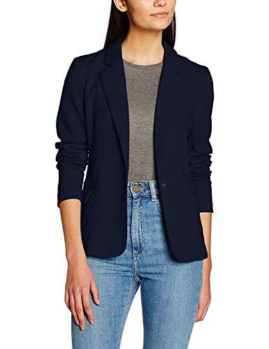 Genhoo Damen Blazer Elegante Langarm Business Büro Jäckchen Anzug Casual Kurzblazer Mantel Jacke Oberteil