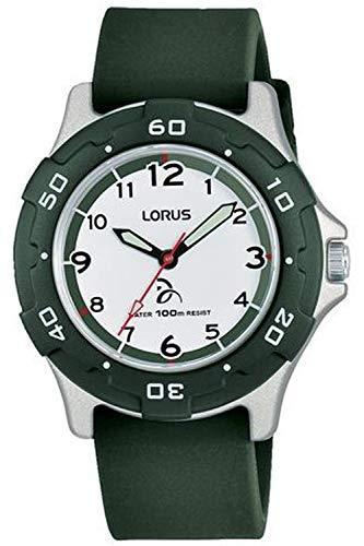 Lorus kids orologio Unisex Analogico al Al quarzo con cinturino in Silicone RRX15GX9
